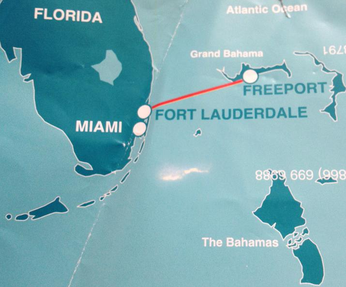 Who knew? A ferry from Florida to the Bahamas |