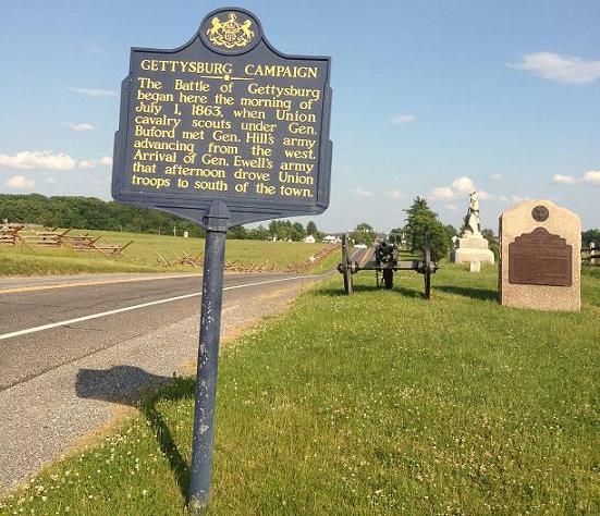 Gettysburg sign