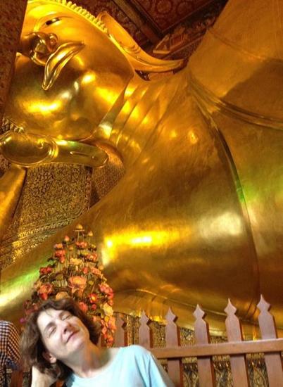 bangkok reclining buddha