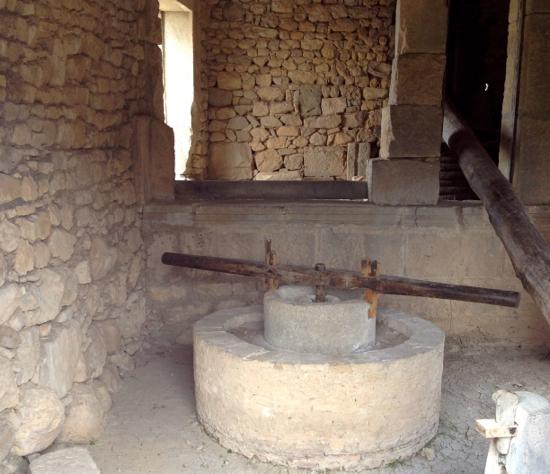 Roman olive press.