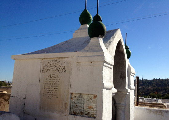 Tomb of a Jewish woman courted by a Muslim man in the 1800s. She was killed after refusing to convert.