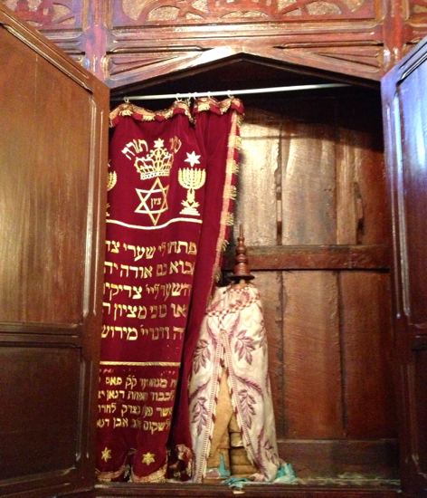 Torah, former Fes synagogue.