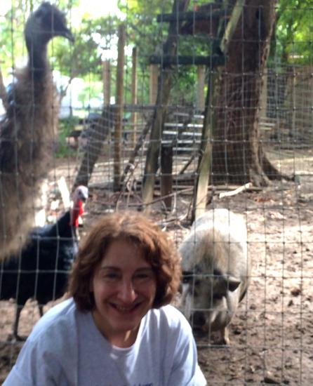 emu and me