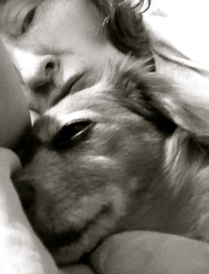 Ginger and me.