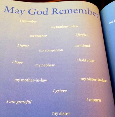 May God remember